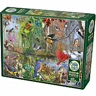 1000 pc Birds Of The Season