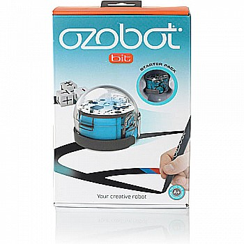 Ozobot 2.0 Bit Starter Pack, Cool Blue