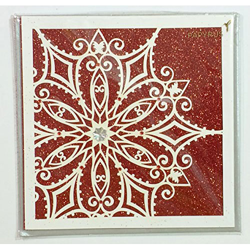 Papyrus Christmas Cards.Christmas Cards For Anyone Snowflake On Cover Sparkles Of