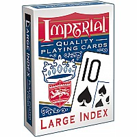 Imperial Large Index Playing Cards