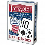 Imperial Large Index Poker Pla