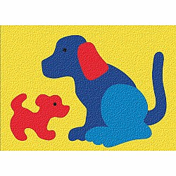 Crepe Rubber Puzzle - Dog