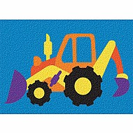 Crepe Rubber Puzzle - Backhoe