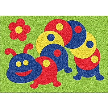 Crepe Rubber Puzzle - Caterpillar