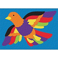 Crepe Rubber Puzzle - Bird 27pc