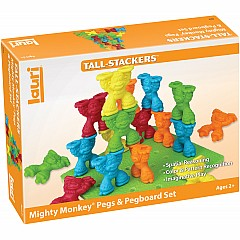 Mighty Monkey Pegs & Pegboard Set