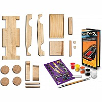 Lauri Toys Wood WorX Track Car Kit