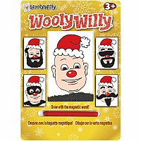 Christmas Wooly Willy