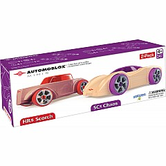 Automoblox Mini SC1/HR5 Car 2-pack