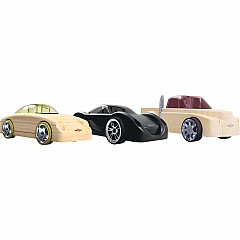 Automoblox Mini Manta/Rex/Fang Car 3-pack