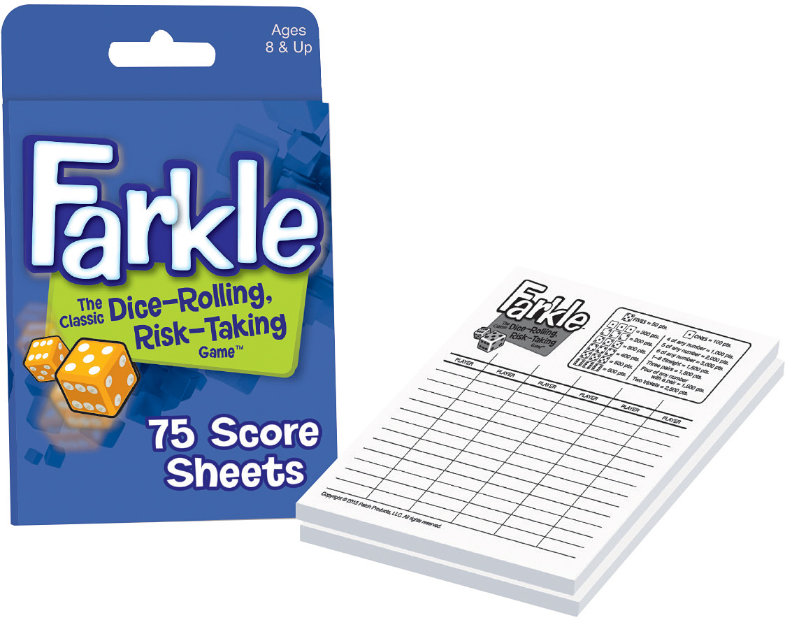 farkle score sheets raff and friends