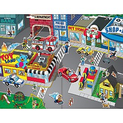 Create-A-Scene Magnetic Set - Town