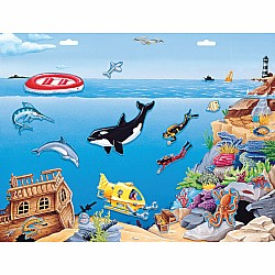 Create-A-Scene Magnetic Set - Ocean Adventure