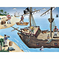 Create-A-Scene Magnetic Set - Pirate Adventure
