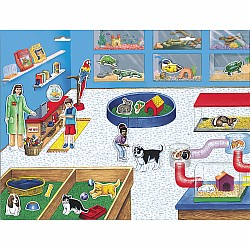 Create-A-Scene Magnetic Set - Pet Shop