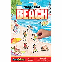 Create-A-Scene Magnetic Playset- Beach