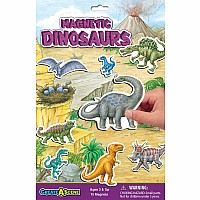 Dinosaurs - Magnetic Playset