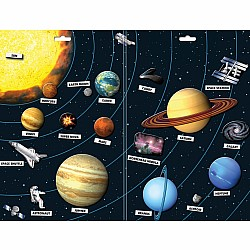 Create-A-Scene Magnetic Set - Solar System