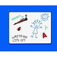 Magnetic Dry-Erase Board - Unlined