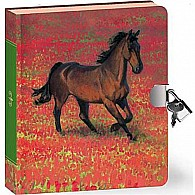 Horse In Poppies Diary