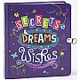 Peaceable Kingdom Secrets, Dreams and Wishes Glow in the Dark Lock and Key Diary