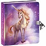 Peaceable Kingdom Unicorn Dreams Lock and Key Diary with Invisible Ink Pen