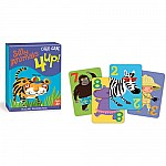 4 Up! Silly Animals Card Game