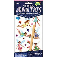 Jean Tats (Temporary Tattoos for Fabric) - Fairies