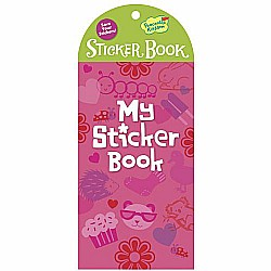 Peaceable Kingdom My Sticker Book Pink Little Sticker Keeper