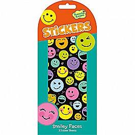 Peaceable Kingdom Rainbow Happy Smiley Faces Sticker Pack