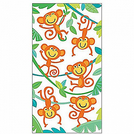 Peaceable Kingdom Furry Orange Monkeys Sticker Pack