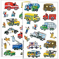 City Car and Truck Sticker Pack