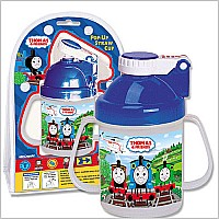 Thomas the Tank Pop-up Straw Cup
