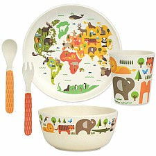 Our World Bamboo Dinnerware Set