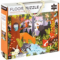 24 pc Floor Puzzle Enchanted Woodland