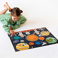24 pc Floor Puzzle Outer Space