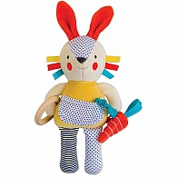 Busy Bunny Organic Baby Activity Toy