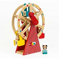 Carnival Playset Wood Ferris Wheel
