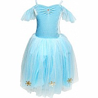 Snow Princess Snowflake Dress Size 3/4