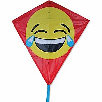 30 in. Diamond Kite - Lol Emoji