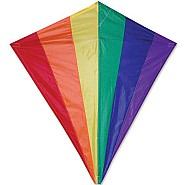 30 in. Diamond Kite - Rainbow