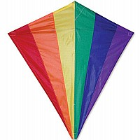Diamond Kite - Rainbow 30 inch*