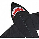 5-Foot Shark Kite, Black