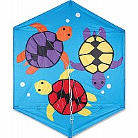 56 in. Rokkaku Kite - Sea Turtles