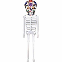 13 ft. Dia De Los Meurtos (Day of the Dead) Skeleton Kite