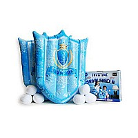 SNOWTIME INFLATABLE SNOW SHIELD SET