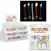 COLORFLAME CANDLES