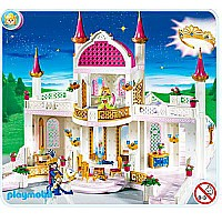 Magic Castle with Princess Crown