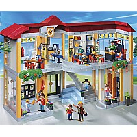 Furnished School Building by Playmobil