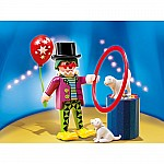 Clown With Dog Show